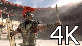 Ryse: Son of Rome - 4K Video Game Trailer [Ultra HD] 2160p