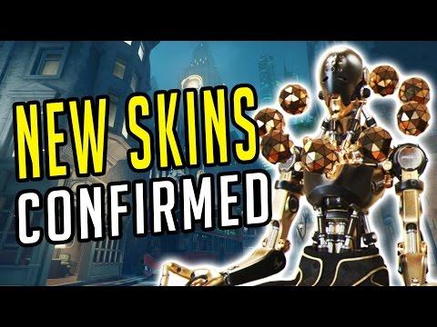 Overwatch – 2017 SKINS + LOW GRAVITY In Custom Games!