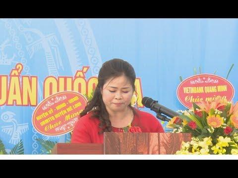 Trường Mầm Non Chu Phan huyện Mê Linh đón chuẩn Quốc Gia và bế giảng năm học 2017-2018