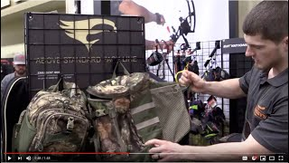 Elevation Equipped Hunting Packs | The Canopy Tri-Zip 1200 Pack