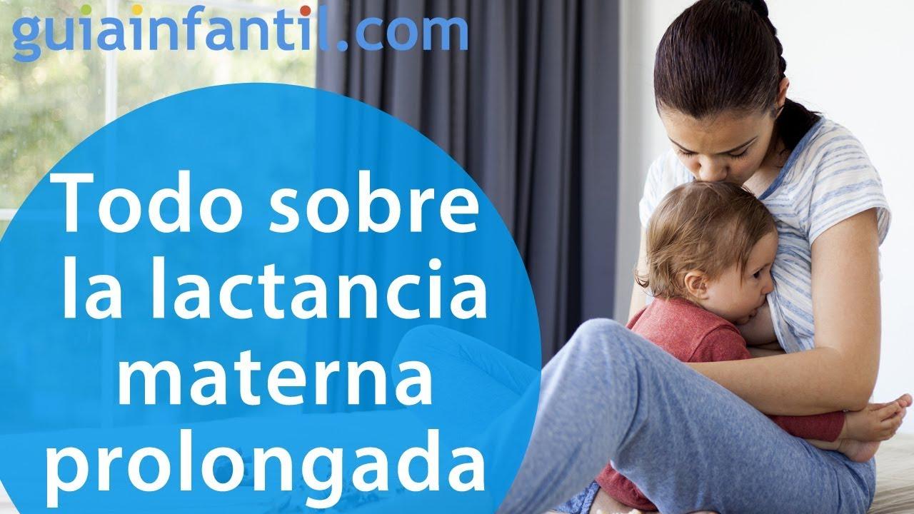 Todas las dudas resueltas sobre lactancia materna prolongada