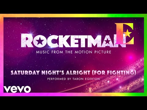 "Cast Of ""Rocketman"" - Saturday Night's Alright (For Fighting) (Visualiser)"