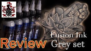 Fusion Ink Grey Set Hands On Review