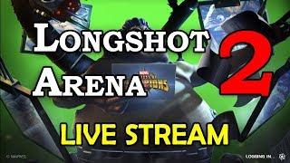 Longshot Arena - Part 2 | Marvel Contest of Champions Live Stream