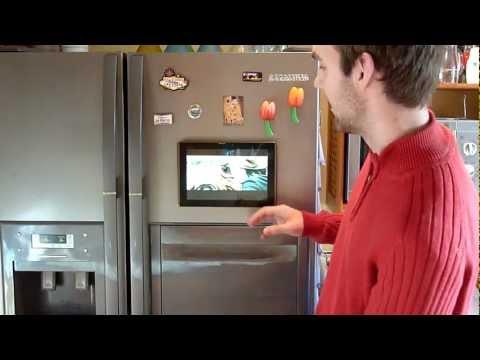 M-Duo Tablet Wandhalterung mit Asus Transformer und Kühlschrank getestet