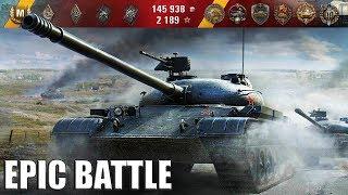 Объект 140 САМЫЙ ЭПИЧНЫЙ БОЙ КОТОРЫЙ БЫЛ НА ЭТОМ ТАНКЕ 11100+ dmg World of Tanks лучший бой