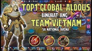 TOP 1 GLOBAL ALDOUS BINUHAT ANG TEAM VIETNAM?