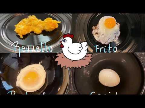 4 Formas fáciles de preparar Huevos / 4 Easy ways to prepare Eggs