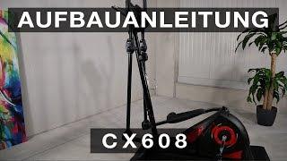 SPORTSTECH CX608 Crosstrainer - Aufbauanleitung/construction/structure/estructura/struttura