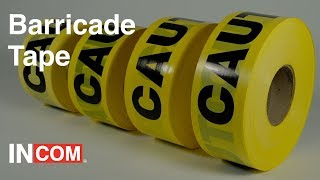Product Spotlight: Barricade Tape