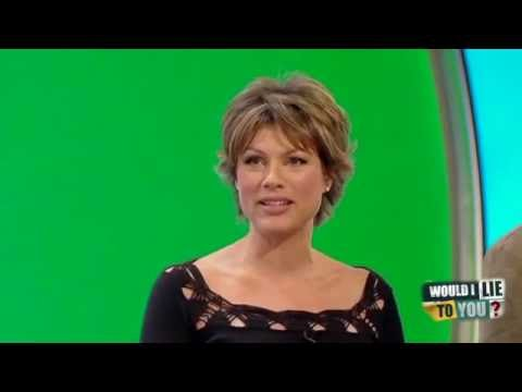 Kate Silverton a noha v kýblu - Would I Lie to You?