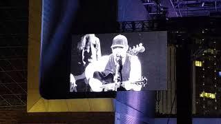 "Brantley Gilbert, acoustic version of ""Saving Amy"", Ascend Amphitheater in Nashville,  TN.  5/6/18"