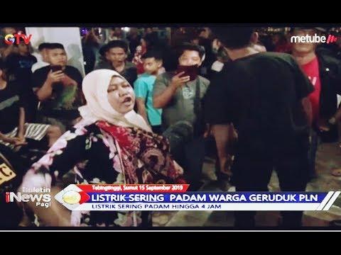 Listrik Sering Padam, Warga di Tebing Tinggi Geruduk Kantor PLN - BIP 16/09