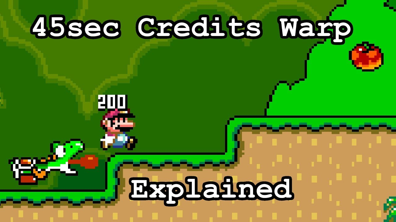 Breaking Super Mario World And Putting It Back Together In 45 Seconds