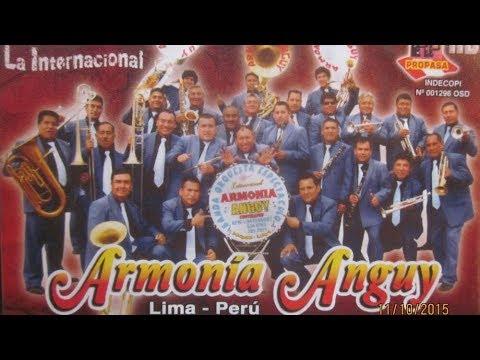 BANDA ARMONIA ANGUY - LA CHISMOSA -  HUAYLINA - CHARAPITA - NO LLAMA NO LLAMA