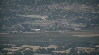 preview picture of video 'A320 Air France landing Port-au-Prince visa lookout'