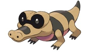 Sandile  - (Pokémon) - Pokemon Cries - Sandile | Krokorok | Krookodile