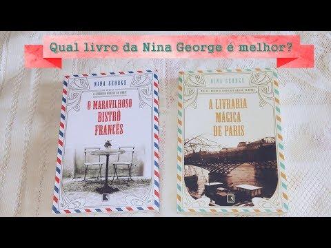 O NOVO LIVRO DA NINA GEORGE É MELHOR OU PIOR QUE O PRIMEIRO?