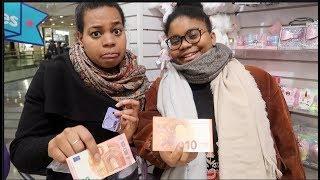 10 euros 💶 challenge chez : claire's ! Qu'est-ce qu'elles ont acheté ? #sakinafamily