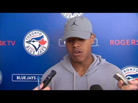 Confident Stroman in control of all pitches in spring debut