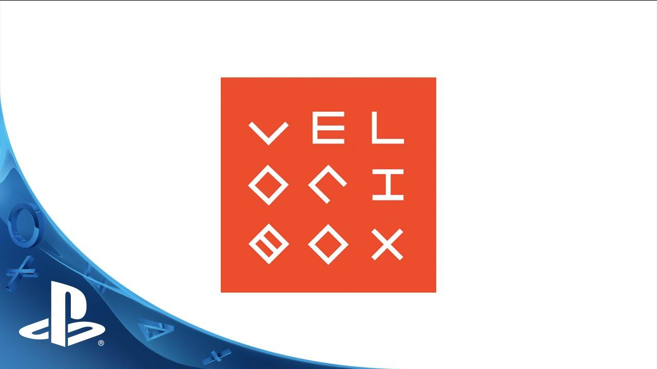 Der gnadenlose Endless-Runner Velocibox rast heute auf PS4 & PS Vita