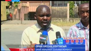 Mpiga kura amtaka Omar Hassan kutogombea ugavana wa Mombasa