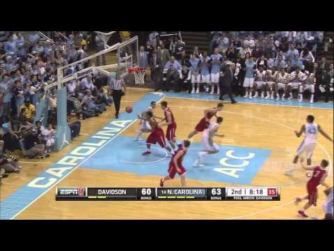 Video: UNC-Davidson Game Higlights