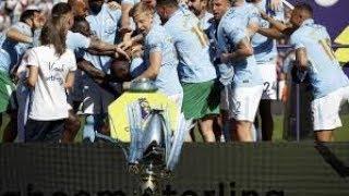 Oleksandr Zinchenko drops Premier League Trophy