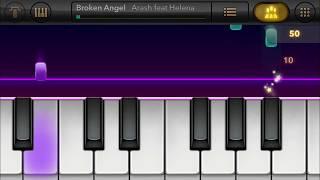 Broken Angel - Arash - Real Piano - iOS 11 - iPhone 7 Screen Recording