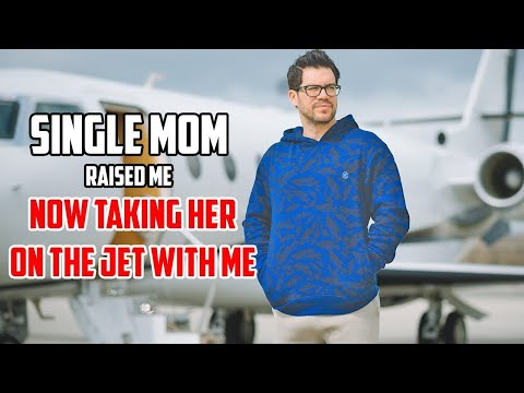 ‪Single Mom Raised Me. Now Taking Her On Jet.‬‏