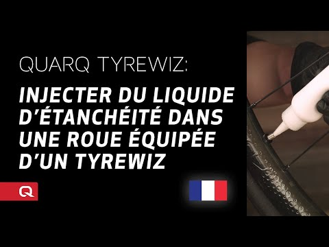 QUARQ: Injecter du liquide d'étanchéité dans une roue équipée d'un TyreWiz