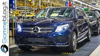 Mercedes-Benz GLE + GLS | Car Factory HOW IT'S MADE Assembly