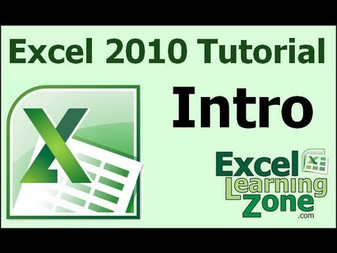 Microsoft Excel 2010 Tutorial - Part 00 of 12 - Introduction - YouTube