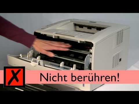 Tutorial: Toner Wechsel bei Brother Laserdrucker