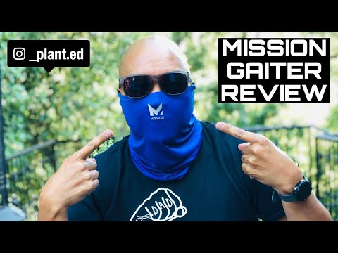 MISSION COOLING GAITER & FACE COVER REVIEW