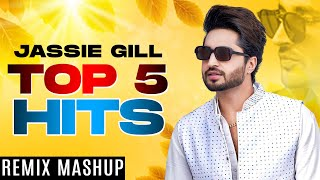 JASSIE GILL | Top 5 Hits (Remix Mashup) | Latest Punjabi Songs 2021 | Speed Records