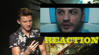 VENOM - Trailer Reaction by Tom Holland (Spider Man)