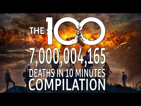 The 100 7,000,004,165 Deaths in 10 minutes Compilation