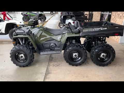 2019 Polaris Sportsman 6x6 570 in Marshall, Texas