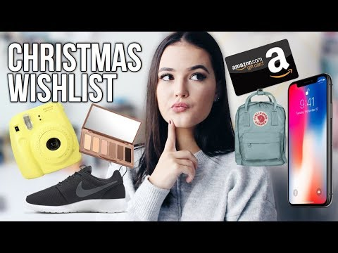 WHAT TO ASK FOR CHRISTMAS 2017 // GIFT IDEAS | Reese Regan