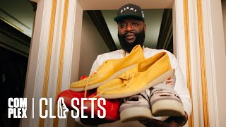 Rick Ross shows off his 100-plus room mansion and insane sneaker collection on the latest episode of Complex Closets with Joe La Puma.  Subscribe to Complex on YouTube: https://www.youtube.com/channel/UCE_--R1P5-kfBzHTca0dsnw?sub_confirmation=1