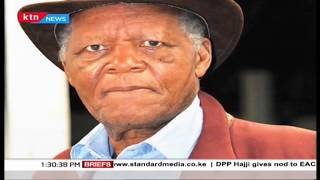 Joe Kadenge Funeral service underway in Nairobi