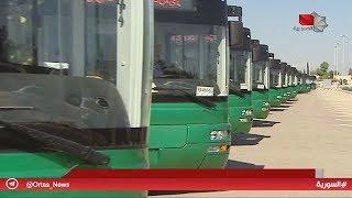 دمشق - الإدارة المحلية تتسلم 100 باص نقل داخلي مقدمة من الصين 20.06.2019