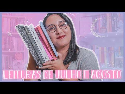 LEITURAS DE JULHO E AGOSTO | por Carol Sant