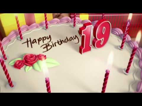 Поздравление парню на день рождения 19 лет.