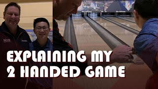 How To Bowl Like A Two-Handed Bowler w/ Coach Mark Baker and Wesley Low | Two-Handed Bowling Tips