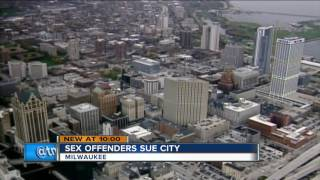 Group of sex offenders suing the city of Milwaukee