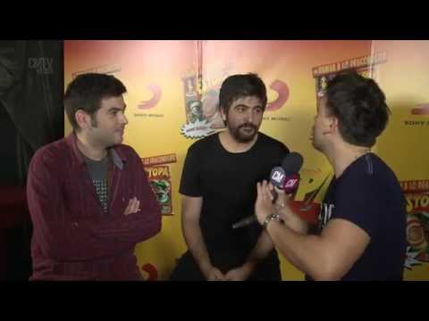 Estopa video Entrevista Argentina  - Octubre 2015