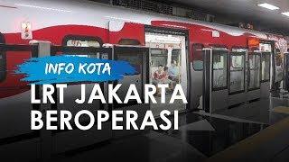 LRT Jakarta Resmi Beroperasi Mulai 1 Desember, Tarif Rp5 000 Sekali Perjalanan