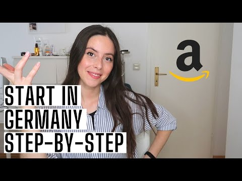 HOW TO START WITH Amazon FBA GERMANY - Step by Step